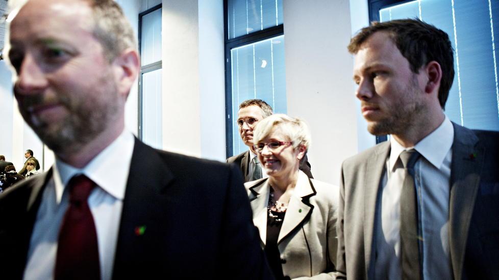 INGEN SELVPINING: Regjeringen har pint seg gjennom lange forhandlinger for � lage en klimamelding uten selvpining. Foto: Nina Hansen / Dagbladet