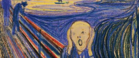 Munch-kunst for millioner p� avveie