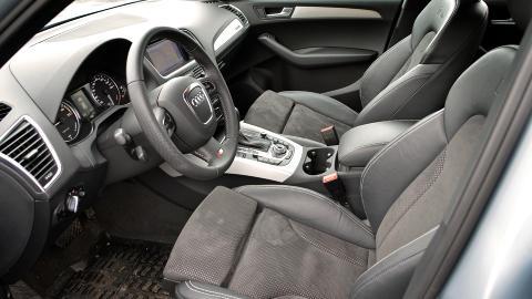 HYBRID-LUKSUS: I Audi Q5 Hybrid er det lite som minner om �traust� milj�bil. Her f�r du luksus, god plass og kruttsterk motor - samt en prislapp som er t�ff � svelge for de fleste av oss. Foto: ANDREAS HANDELAND