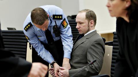 OVERSETTES: Breivik har både i retten og i avhør sagt at et hovedmål med 22. juli var å spre kompendiet - det såkalte manifestet - som han har klippet og limt sammen av en rekke antiislamistiske tekster. Manifestet oversettes nå av russiske støttespillere. Foto:Nina Hansen / Dagbladet