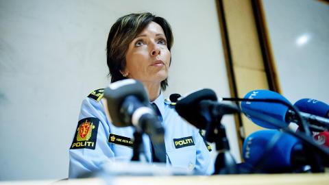 MELDT SAVNET: Politiinspekt�r Hanne Kristin Rohde opplyser at den drepte mannen er den samme som ble meldt savnet torsdag kveld. Foto: Thomas Haugersveen / Dagbladet