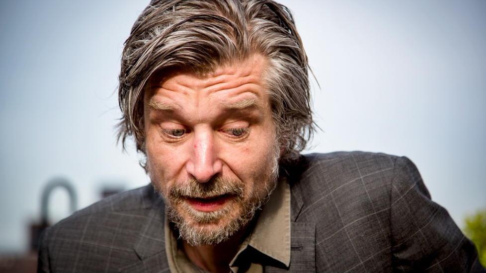HAR DET G�Y: Forfatter Karl Ove Knausg�rd synes det er stas � f� gitt ut �Min kamp� i USA. Foto �rjan F. Ellingv�g/Dagbladet