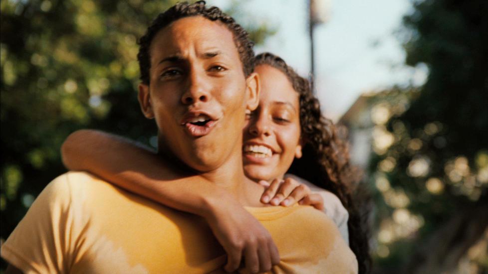 Hoppet av: De Cubanske skuespillerne Javier Nunez Anailin de la Rua hoppet av i Miami p� vei til filmfestivalen Tribeca. Foto: AP Photo