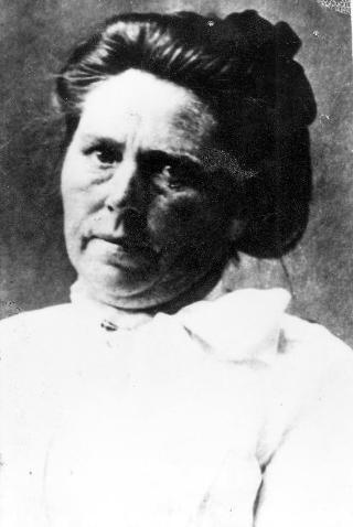 Belle Gunnes F�dt Brynhild Paulsdatter St�rset i Selbu i S�r-Tr�ndelag. Bosatte seg i Chicago og ble etter sin d�d verdenskjent for � ha drept flere av sine barn, to ektemenn og flere friere. Til sammen skal hun ha drept 40 personer. Hun ble aldri d�mt. Foto: Scanpix