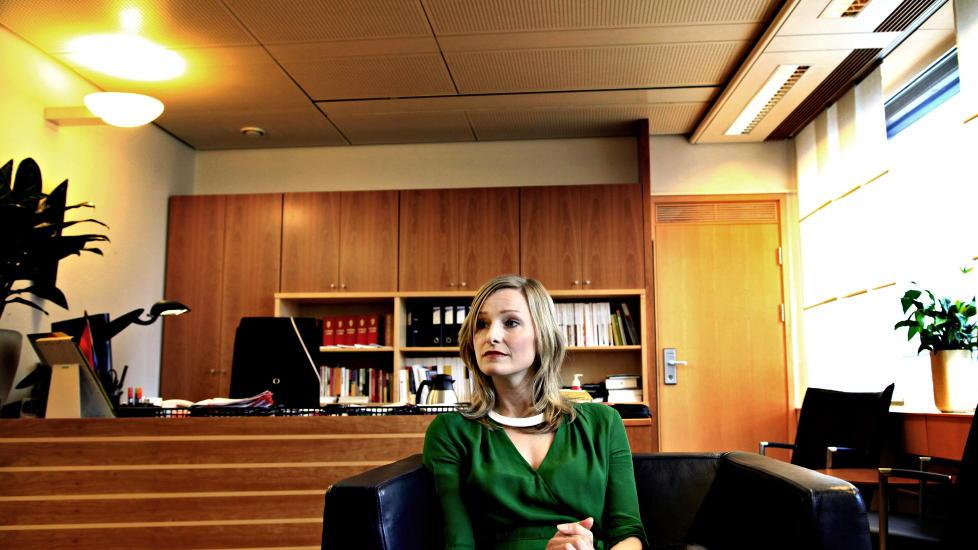 BLANDET SEG: Barne- likestillings- og inkluderingsminister Inga Marte Thorkildsen. Foto: Jacques Hvistendahl/ Dagbladet.