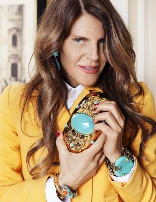 Anna Dello Russo designer for H&M