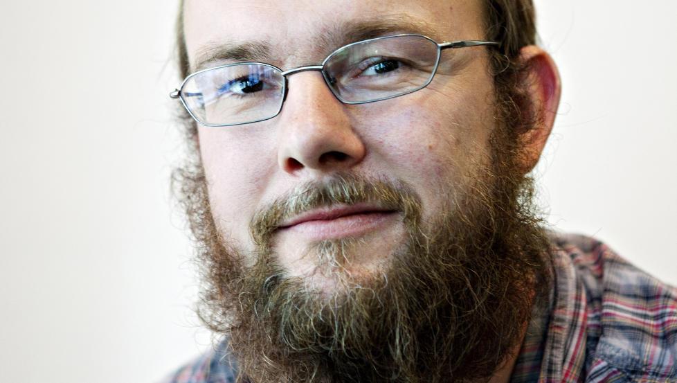 UBEHAGELIG: Anders Lundes f�rste roman er like ubehagelig som hans kritikerroste novellesamling. Foto: NINA HANSSEN
