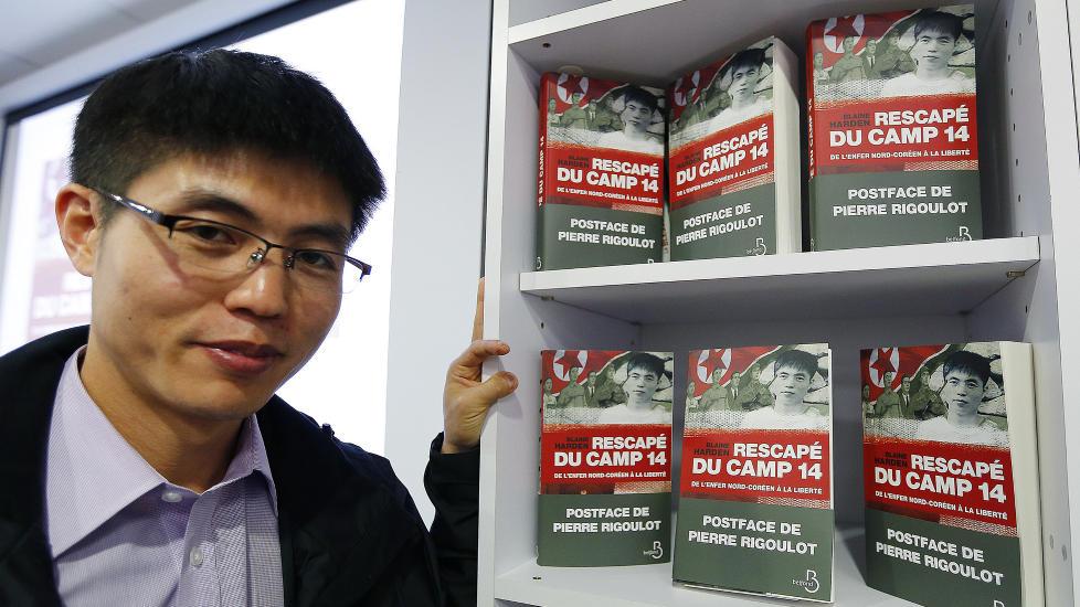 FLYKTET: Shin Dong-hyuk ble f�dt i en av Nord-Koreas beryktede fangeleirer og ble f�rst fri da han r�mte som 22-�ring. N� har Shins historie blitt bok. Foto: REUTERS/Jacky Naegelen