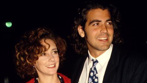 TALIA BALSAM: Var gift med Clooney fra 1989 til 1993. Foto: Stella Pictures