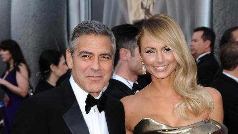 STACY KEIBLER: George Clooney har v�rt kj�reste med den tidligere fribryteren siden i fjor. Foto: Stella Pictures