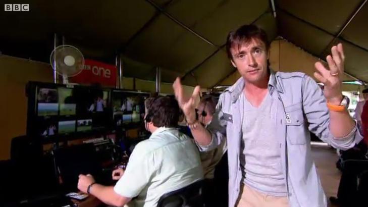 IVRIG:  Programleder Richard Hammond, best kjent fra serien Top Gear, er programleder i BBCs Planet Earth Live. Faksimile: BBC