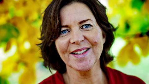Arbeidsminister Hanne Bjurstr�m Foto: Krister S�rb�