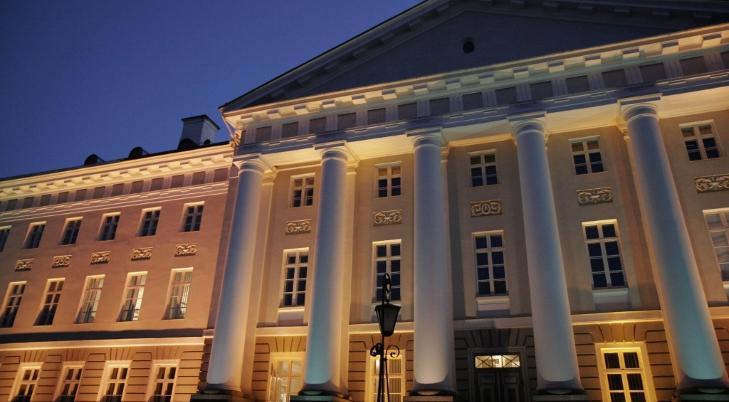 STUDENTFENGSEL: Universitetet i Tartu i Estland har en dyster historie. Lonely Planet regner byen for � v�re en skjult skatt. Foto: MASOCHISMTANGO/CREATIVE COMMONS