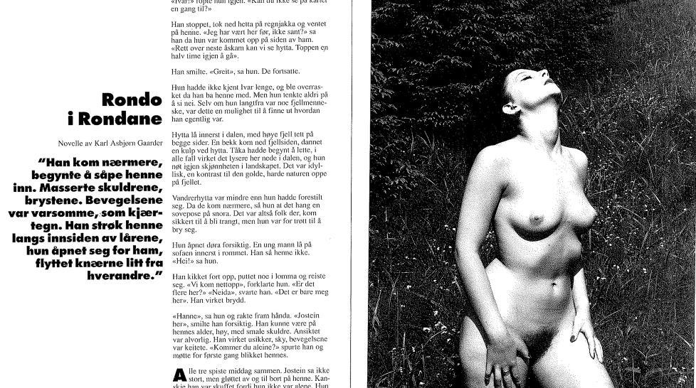 vg nett erotisk novelle