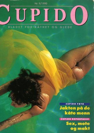 FORSIDEN: Cupido-utgaven der Karl Ove Knausg�rds novelle �Rondo i Rondane� sto p� trykk i 1990. Faksimile: Cupido