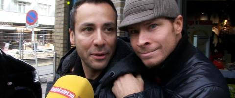 90-tallets boyband-helter dro p� shopping i Oslo