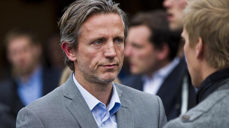 TUNGT: Stab�k-trener Petter Belsvik etter minnestunden for Gromstad. Foto: Vegard Gr�tt / NTB scanpix