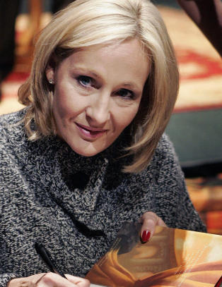 Ny roman fra J.K. Rowling kommer p norsk