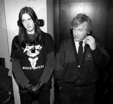 FILMATISERES: I 1994 ble den tidligere Mayhem-musikeren Varg Greven Vikernes d�mt for drapet p� Mayhem-grunnlegger �ystein Aarseth. Vikernes har sonet ferdig dommen og lager fortsatt musikk, mens det i USA jobbes med en film om Mayhem-historien. Foto: Stella Pictures