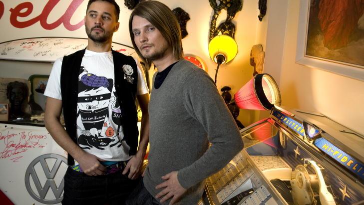 JOBBET SAMMEN: R�yksopp jobbet tett med Per Eirik Johansen. Foto: Tor H Mathisen
