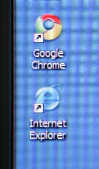 how to change over to google chrome from ie