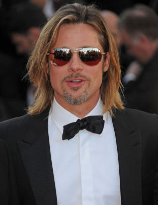 Brad Pitt stilte med luksurist tilbehr p rd lper