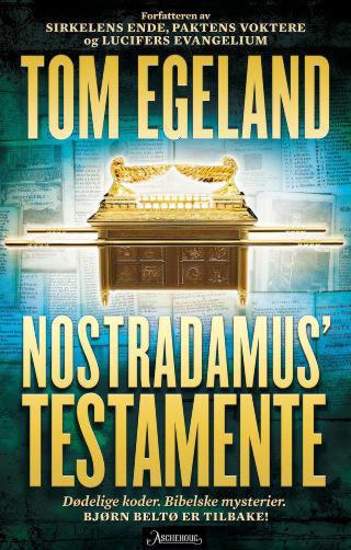 EBOK: Ebokutgaven av Tom Egelands suksessroman er optimalisert for Apples iBooks-programvare.