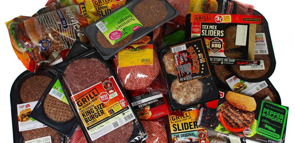 VELG SUNT TILBEH�R: Det mest usunne med et typisk hamburgerm�ltid er ofte ikke hamburgeren i seg selv. Foto: ERIK HELGENESET