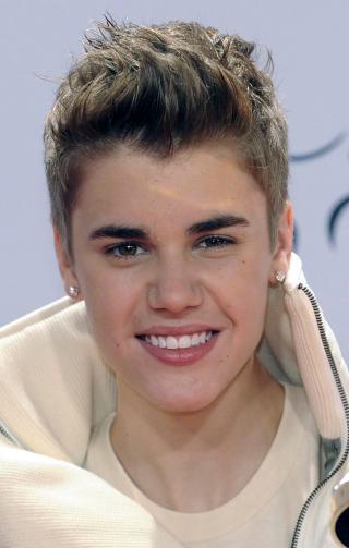 HJERTEKNUSER: Justin Bieber. Foto: Scanpix