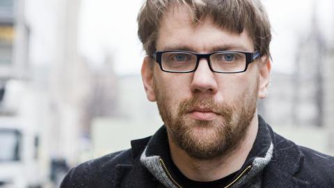 �yvind Str�mmen har skrevet boka �Det m�rke nettet� om h�yreekstremisme, kontrajihadisme og terror i Europa. Torsdag vitner han i rettssaken. Foto: Berit Roald / Scanpix