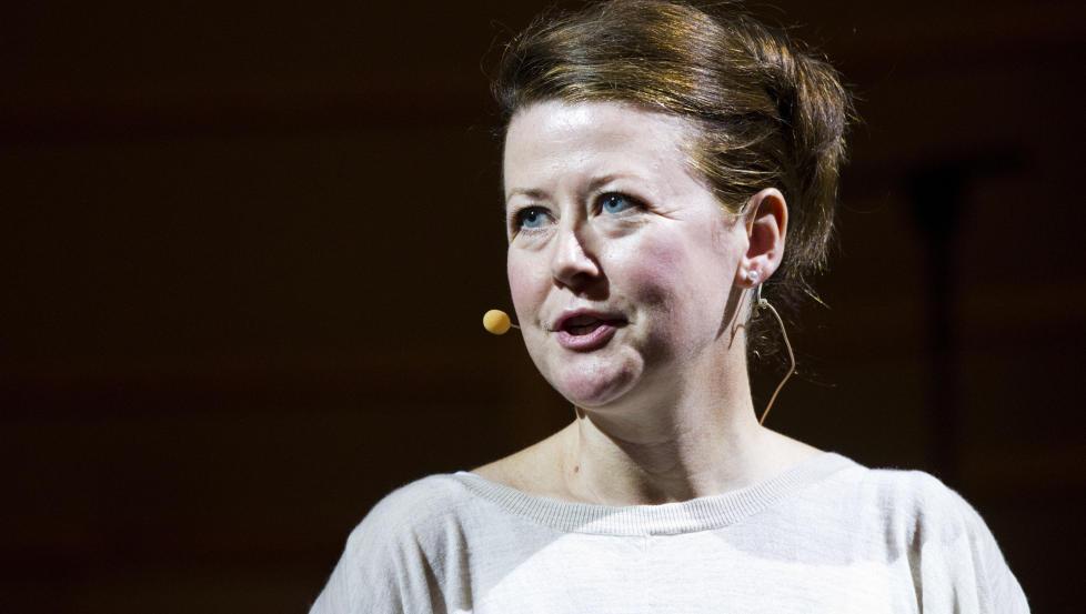 ARROGANT: Hanne T�mta er teatersjef p� Nationaltheatret. �Vegringen mot � delta i grunnlovsjubileet viser en form for kulturell arroganse,� skriver artikkelforfatteren. Foto: Thomas Winje �ijord / NTB scanpix