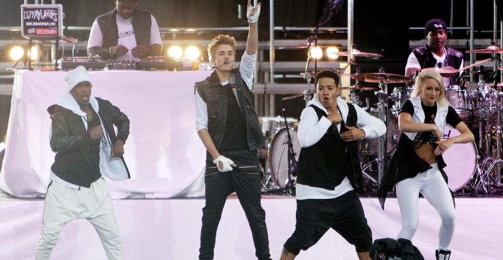 Kaos i Oslo Justin Bieber i Oslo Justin Bieber Fra