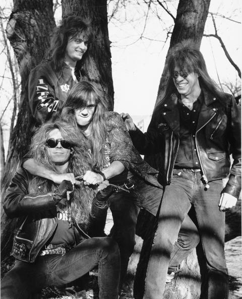 FOR 23 �R SIDEN: TNT i 1989 - Kenneth Odiin, Morten Skaget, Ronnie Le Tekr� og Tony Harnell. Foto: Ellen Marie Hagevik/Dagbladet.