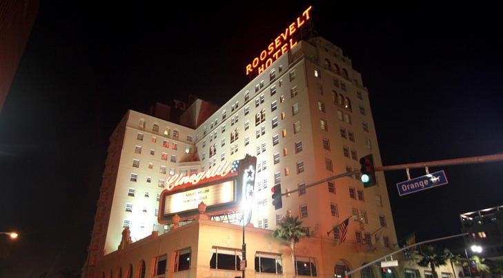 POPUL�RT: Hollywood Roosevelt Hotel er veldig popul�rt blant filmbyens yngre garde. Foto: STELLA PICTURES