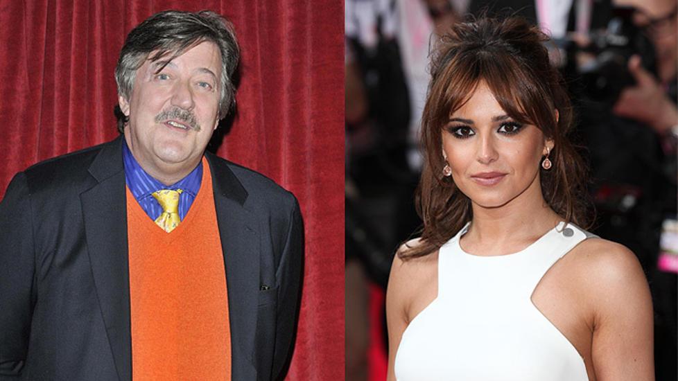 TETT L�P: Cheryl Cole er britenes ultimate reisepartner, men Stephen Fry er det mest popul�re reisef�lge blant unge menn. Foto: STELLA PICTURES