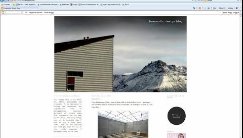 SKANDINAVISK DESIGN: Skandinavisk design er hva bloggeren brenner for p� bloggen Love Nordic Design.  Foto: Love Nordic Design