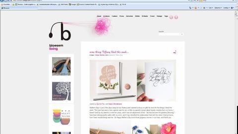 SATSER DELT: Bloggerne bak Bloesem har �n blogg om livsstil og �n om livsstil for barn - og sv�rt mange lesere er blitt glade i disse bloggene. Foto: bloesem.blogs.com