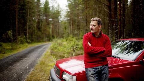 TJENER GODT: Forfatter Lars Mytting jobber n� med en ny roman. Foto: Agnete Brun / Dagbladet