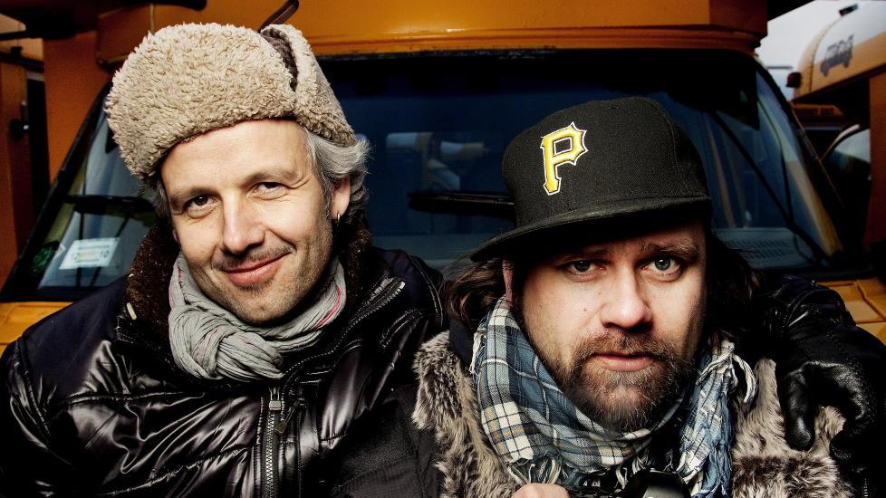 FRA NRK TIL TVNORGE: TVNorge har kapret Ari Behn og Per Heimly, radarparet som fikk Gulruten for sitt NRK-program. Foto: Agnete Brun / Dagbladet