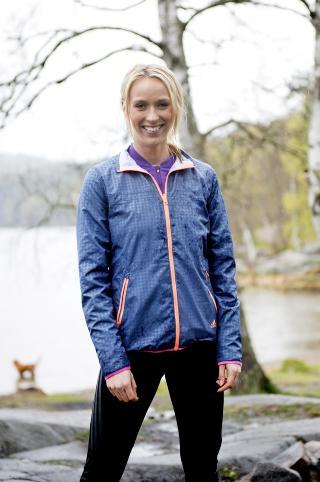 AKTIV: Katarina blogger, som s� mange andre p� sin alder - mest om trening. Foto: Thomas Haugersveen