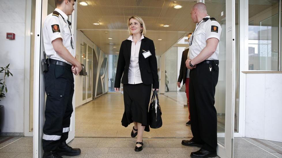 UTNEVNT I DAG: Politimesteren i Vestfold, Marie Benedicte Bj�rnland, blir ny sjef for Politiets sikkerhetsstjeneste (PST). Foto: H�kon Mosvold Larsen / NTB scanpix