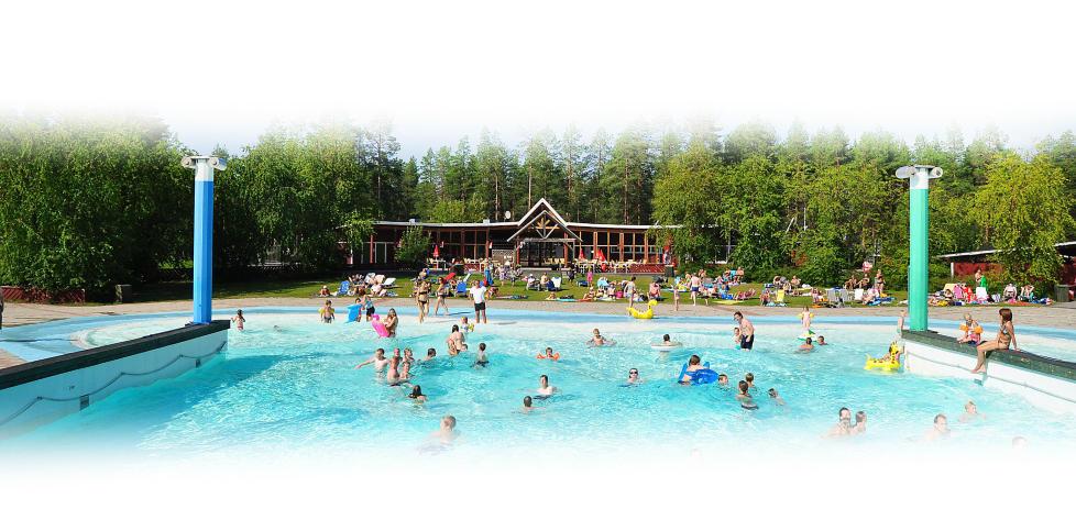 FIRST CAMP LULE�:  Her bor det 2000 nordmenn i d�gnet om sommeren. Foto: FIRST CAMP LULE�.