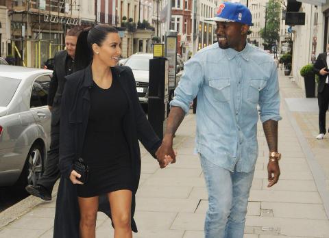 KJ�RESTER: Kims kortvarige ekteskap med basketballstjernen Kris Humphries tok slutt i fjor. N� er hun sammen med rapperen Kanye West. Foto: Stella Pictures