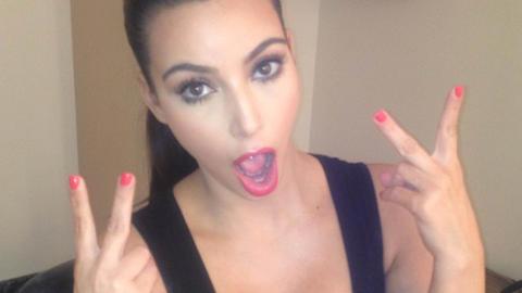 IVRIG: Kim Kardashian er ivrig p� Twitter. Foto: Stella Pictures/Twitter