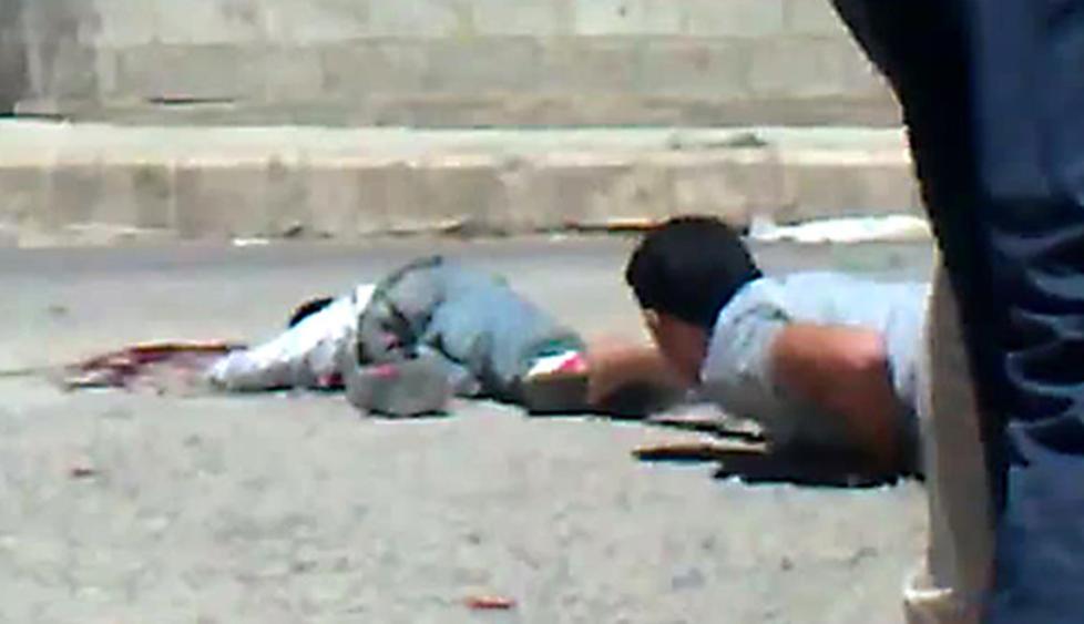 DRAMATISK:  Mohammed Bassam al-Tahhan (11)  skal ha d�dd av skadene han fikk under en demonstrasjon i Deraa. Foto: AFP PHOTO/Scanpix