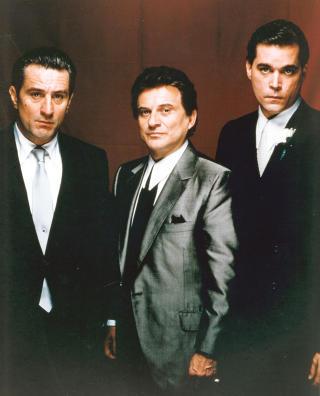 �GOODFELLAS�: Robert De Niro, Joe Pesci og Ray Liotta spilte i Scorseses storfilm fra 1990. Liotta (t.h.) spilte Henry Hill. Foto: Stella Pictures