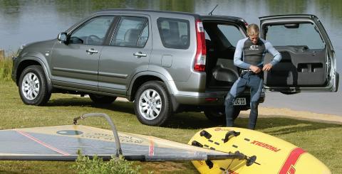 FÅ FEIL: 12,6 prosent av Honda CR-V (2002-2005) får anmerkning for større feil. Foto: Honda