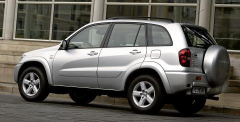 BRA BRUKT: Kun én av ti Toyota RAV4 har større mangler. Foto: Toyota