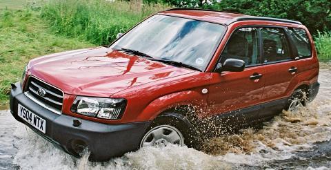 SOLID: Kan du leve med litt gubbestempel er Subarru Forester (2003-2005) blant de aller beste bruktbilkjøpene. Foto: Subaru
