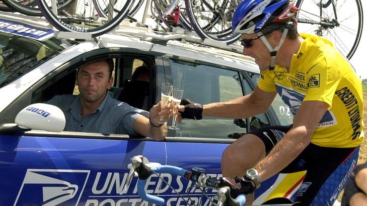 TOUR-LEGENDE: Lance Armstrong vant Tour de France sammenlagt sju ganger. Foto :AP Photo/Peter Dejong